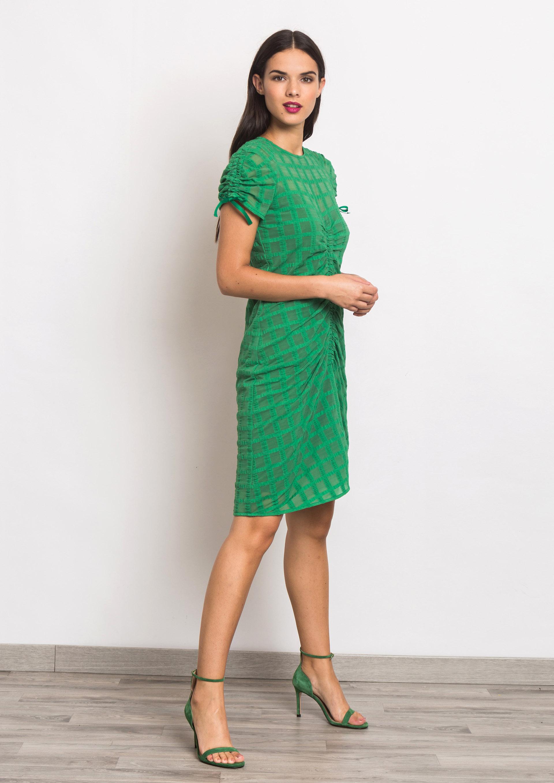 f7c6fb72bff Vestido de punto verde