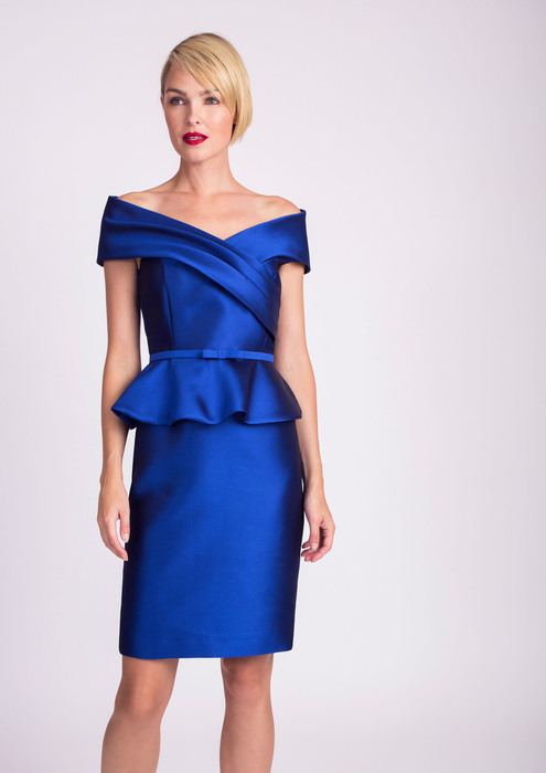 Blue special occasion dress