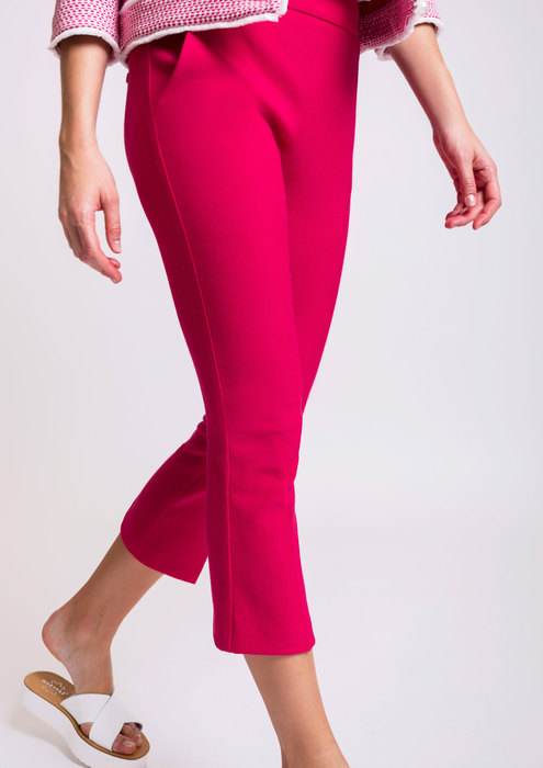 Fuchsia trousers