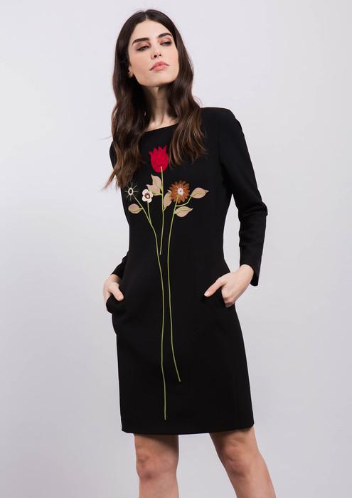 Chaqueta Vestido Corta Geometrico Dibujo Negro Con pp6xEP c6b0e60bb20a