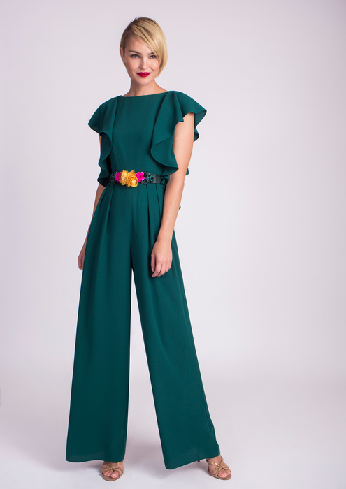 Long special occasion jumpsuit
