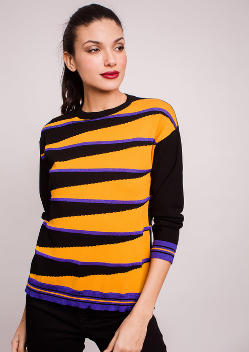 Jersey tricolor mujer