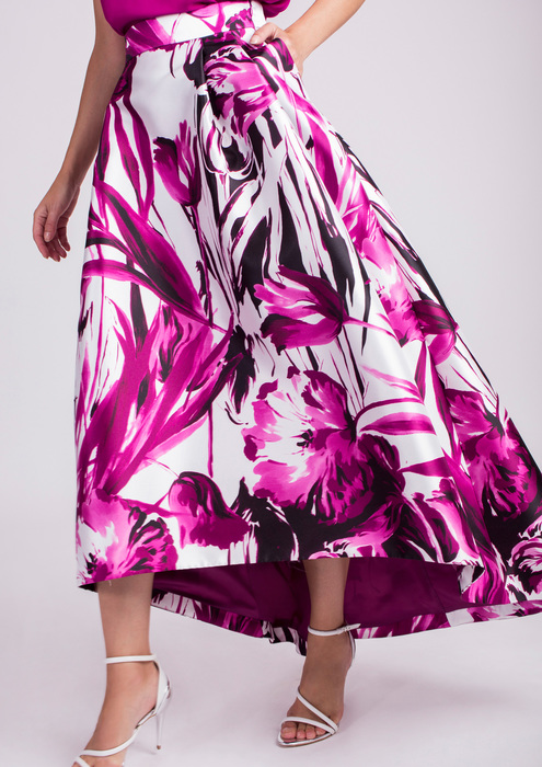 Printed special occasion skirt