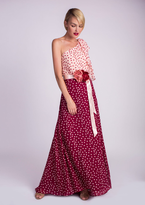 Special occasion polka dot outfit